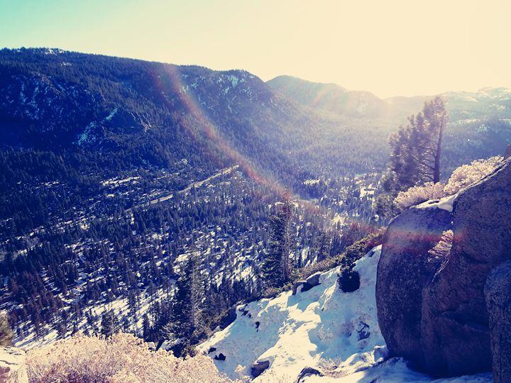 Tahoe Mountains - Linna Moore