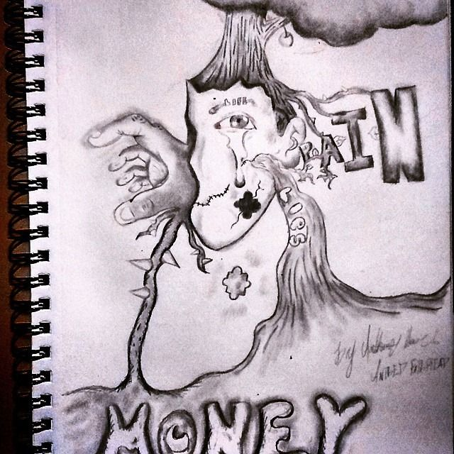 MONEY IS THE ROOT OF ALL EVIL - AntbedFatbread