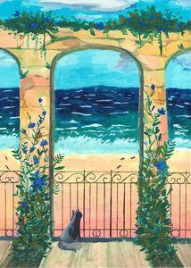 Beach-Side Ivy