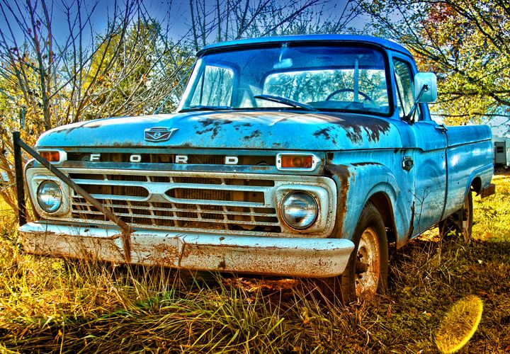 Old Blue - Russell Honey Photography