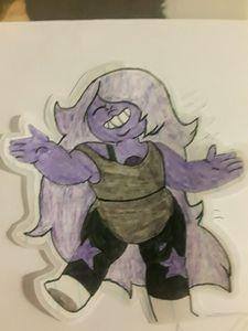 Steven Universe:Amathyst(Sticker)