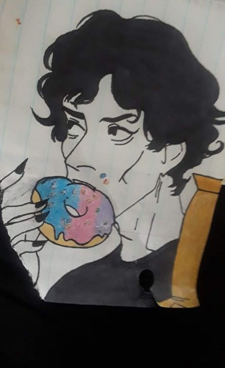 Richard Ramirez:Eating a donut - Jeffrey Richard Bundy