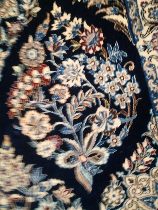 Iranian rug - signed - K&D Art