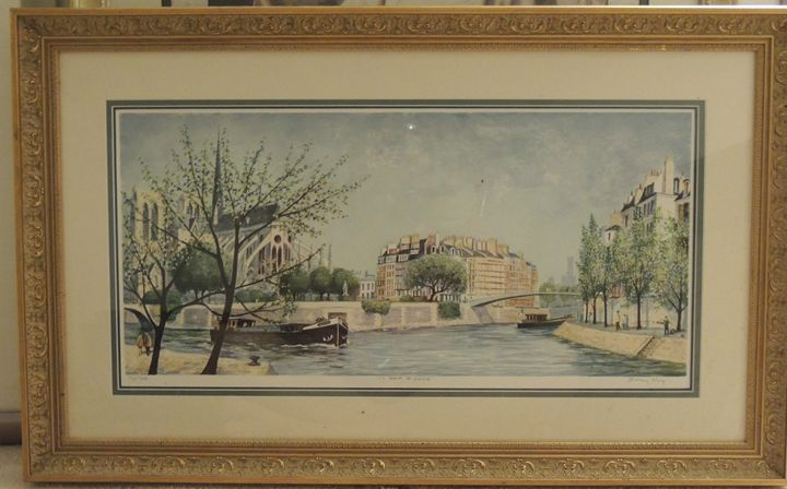 "Jeremy King ""Le pont St Louis"" - K&D Art"