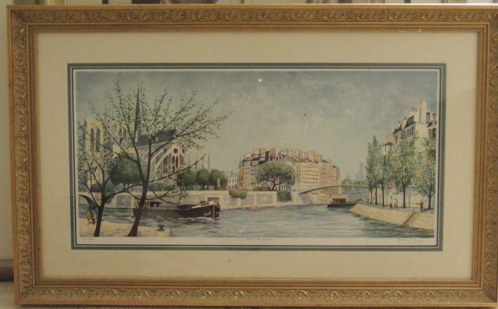 """Jeremy King """"Le pont St Louis"""" - K&D Art"""