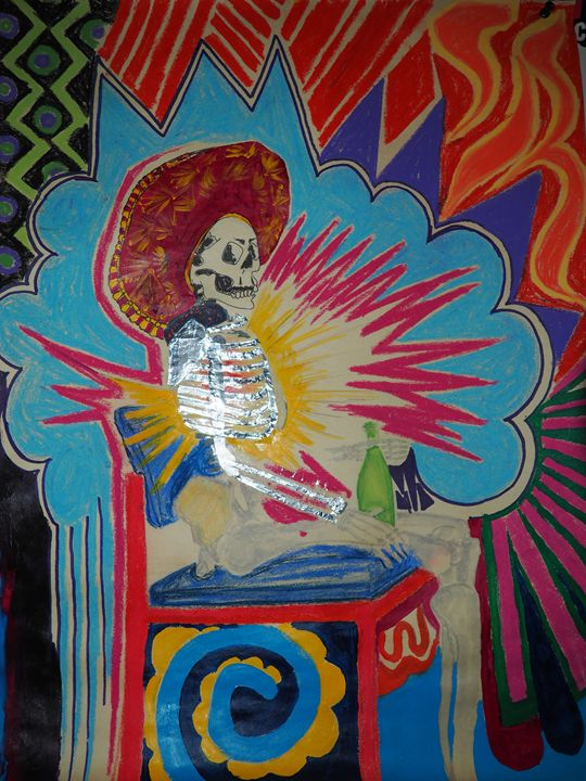 Mexicana Skeletor Sunrise - Robin Chorney
