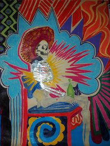 Mexicana Skeletor Sunrise