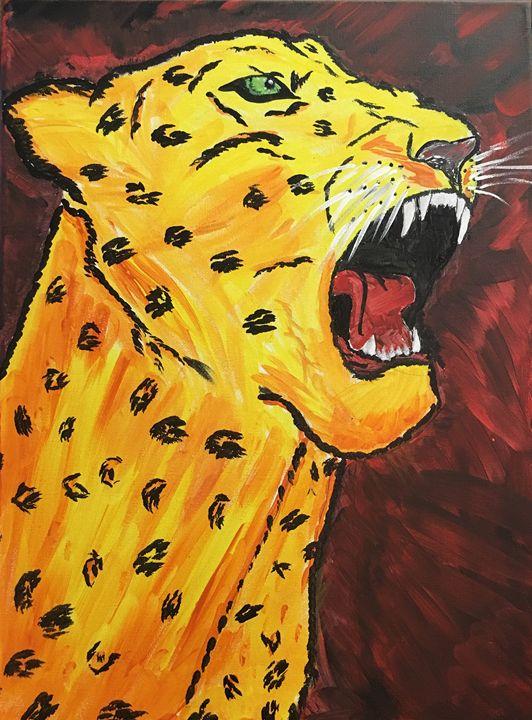 """""""Power"""" - Painting 4 PTSD"""