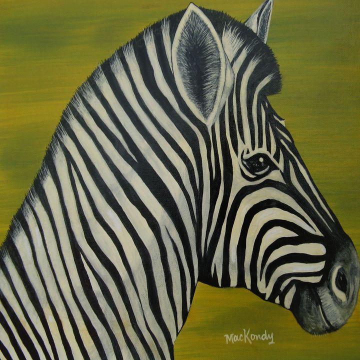 Zachary The Zebra - arteesto