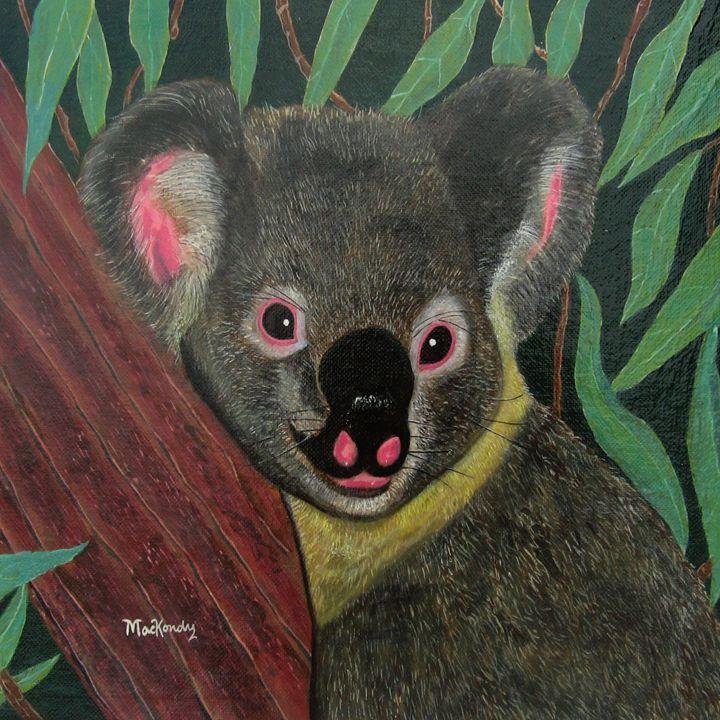 Karl The Koala Bear - arteesto