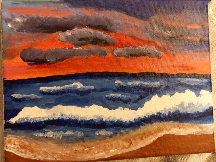 Ocean Waves - Claudia's Corner