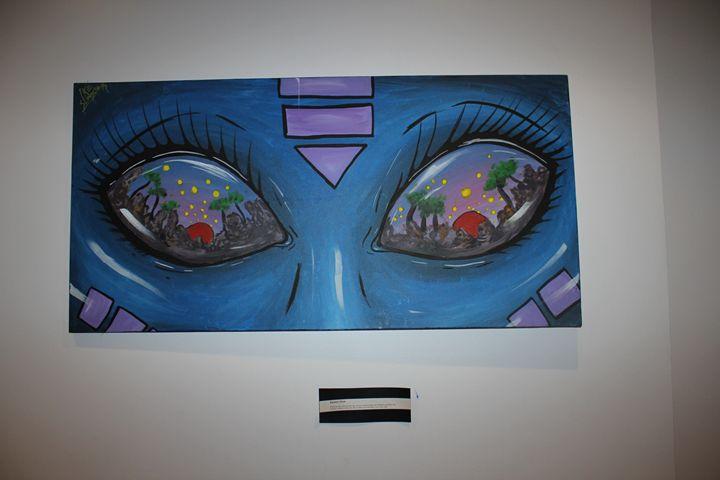 Jacara's Eyes - AstroGallery