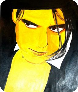 Robert Smith portrait