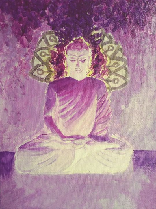 Balance the Buddha - Elizabeth Maria - LibertineArt.com