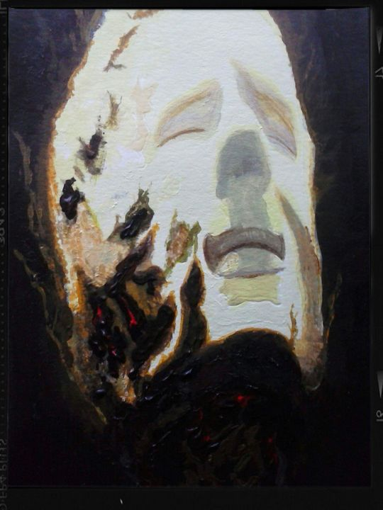 """""""up in flames""""the death of a vampire - Elizabeth Maria - LibertineArt.com"""