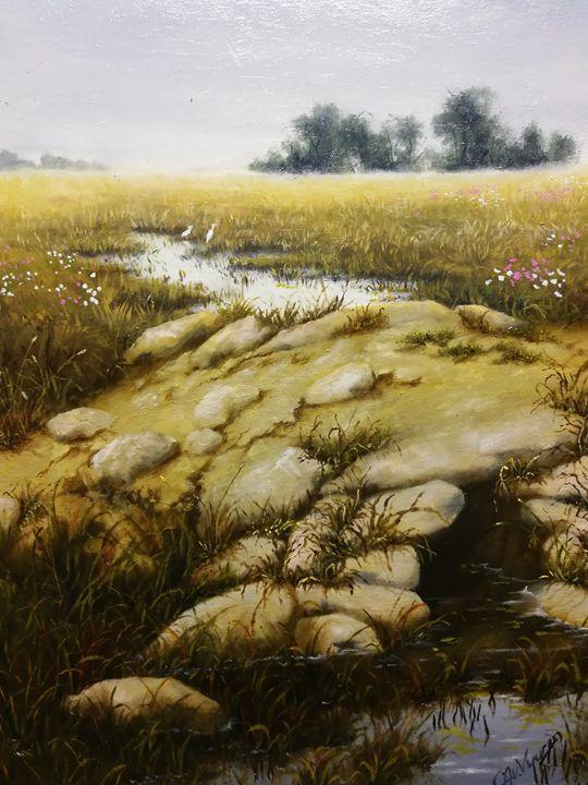 Stillness in the fields - Christelle Janse van Vuuren