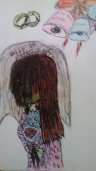Bride of Frankenstein's - Stacey fays artistic prints