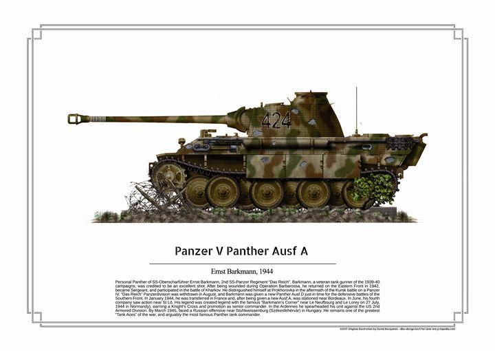 Kuvahaun tulos haulle meng Sd.Kfz.171 Panther Ausf.D Commander Ernst Barkmann