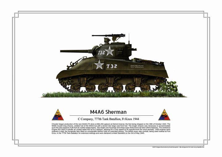 M4A6 Sherman - dbo design