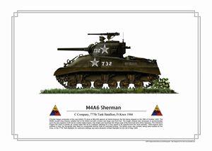 M4A6 Sherman