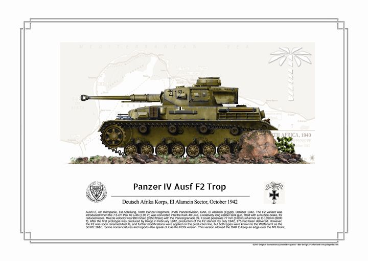 Panzer IV Ausf F2 Trop - dbo design