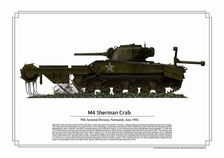 M4 Sherman Crab - dbo design