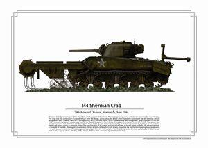 M4 Sherman Crab