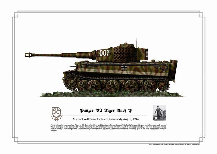 Panzer VI Tiger Ausf F - dbo design