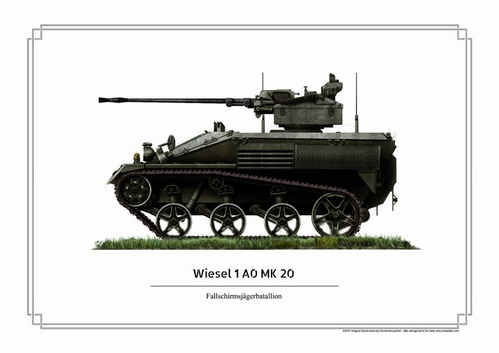 Wiesel 1A0 Mk20 - dbo design