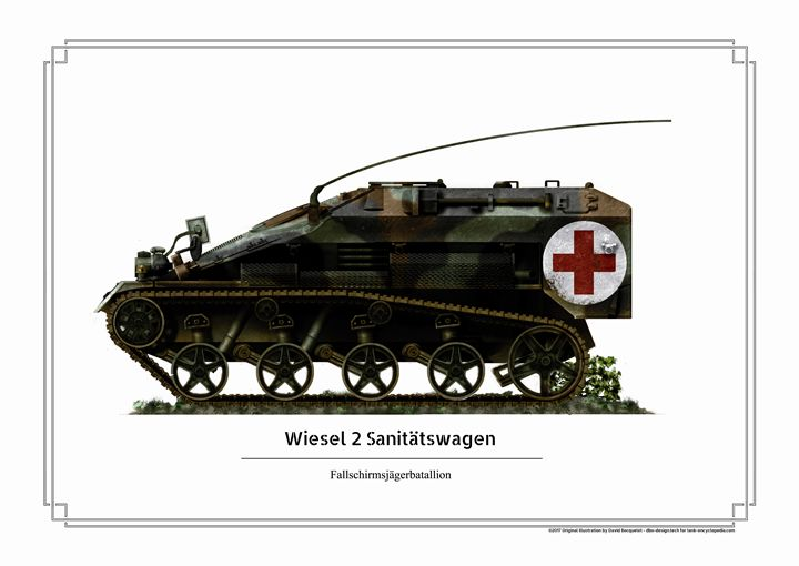 Wiesel 2 Sanitätswagen - dbo design