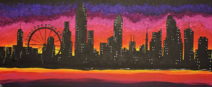 Sunset in the City of Dreams - CreatiffSoul Collection