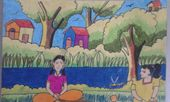 Paintings of S.Akshaya(09 Yrs old girl)
