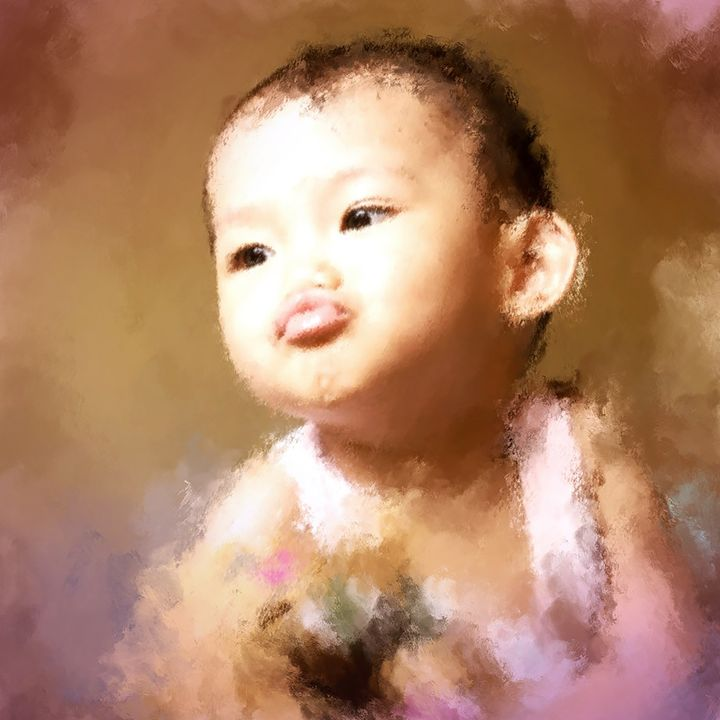 Baby Duck Face - OURA art