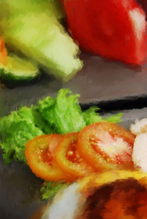 Tomatoes at Breakfast - OURA art