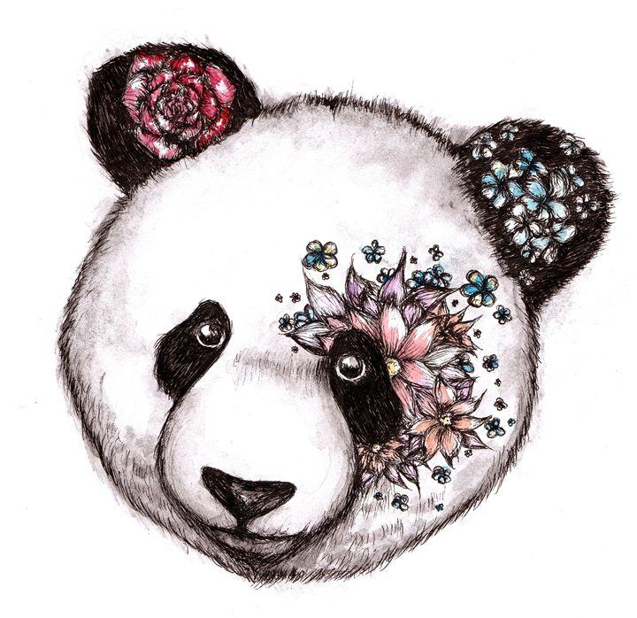 Floral Panda - Ishkaart