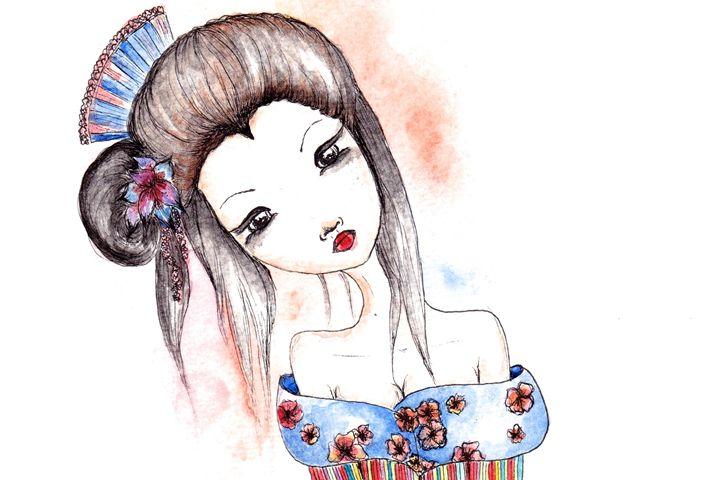 Rainbow Geisha - Ishkaart