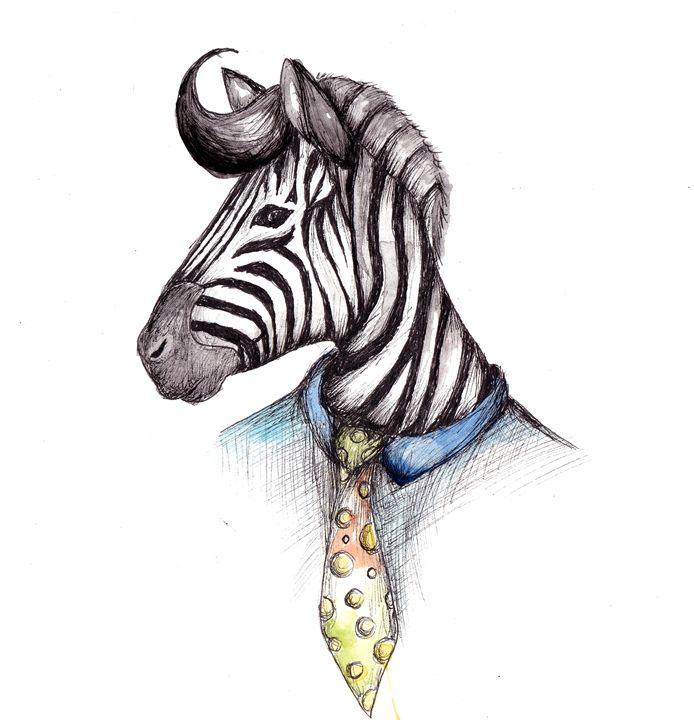 Zebra - Ishkaart