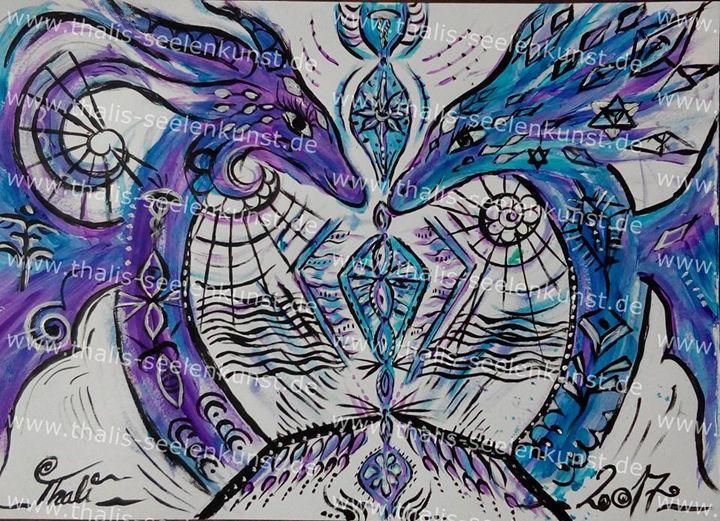 """endless gratitude ""  copy - Thalis Soulart"