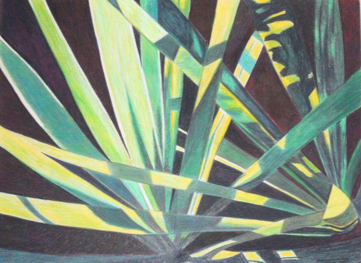 Golden Sword Yucca # 1 - www.Artpal.com/alphacortius