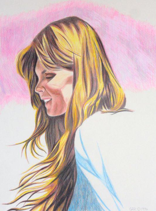 Portrait of a young lady - www.Artpal.com/alphacortius