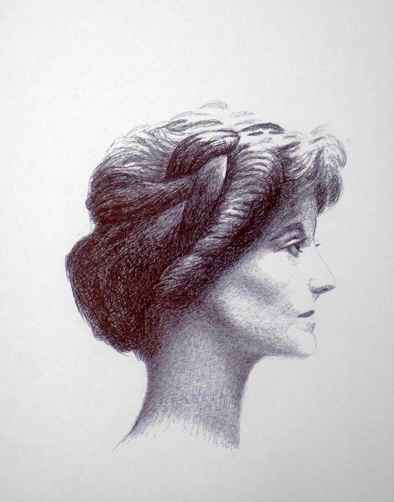 Lady # 1 - www.Artpal.com/alphacortius
