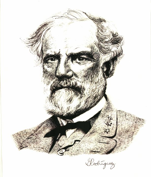 General Robert E. Lee - www.Artpal.com/alphacortius
