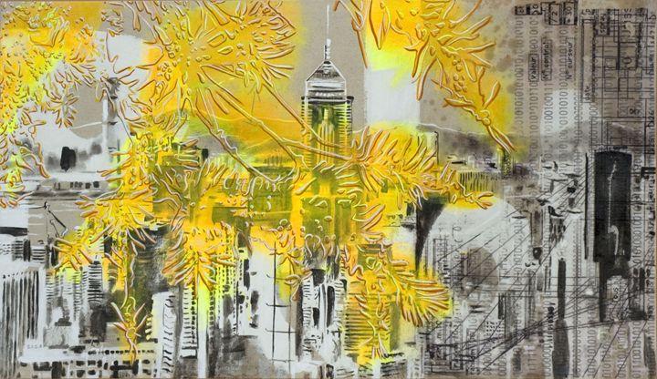 toil0644white-yellow HK - Through Layers of Memory