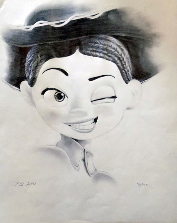 Jessie From Pixar's Toy Story - Sarahtonin