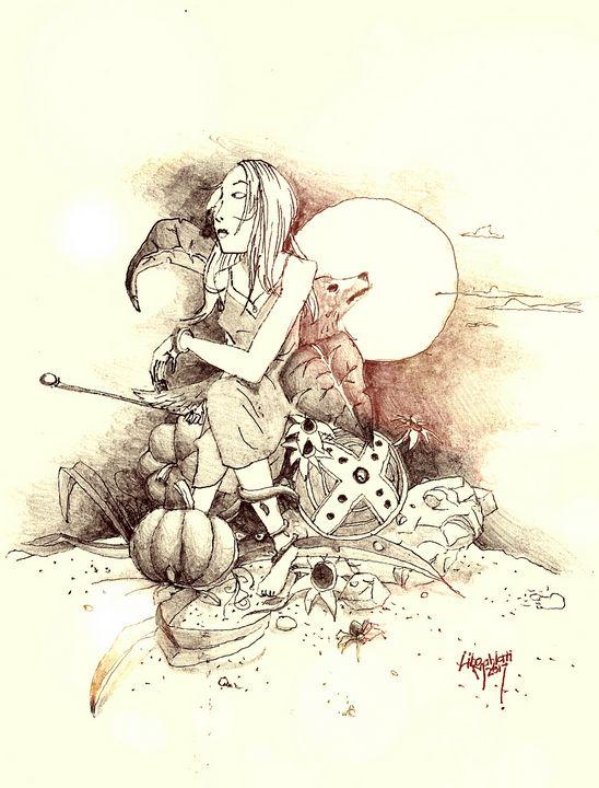 Call Of The Moon - Art Of Awe - Libo Mahlati