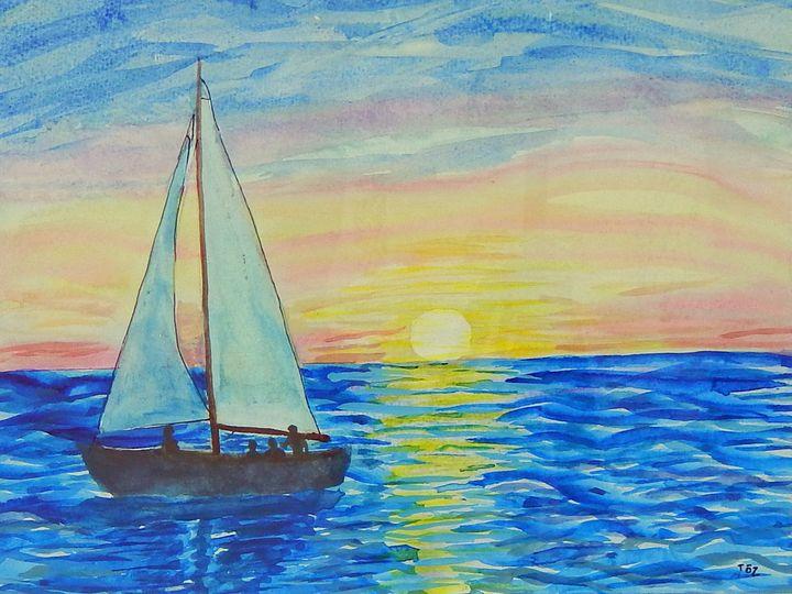 evening sail - Toz