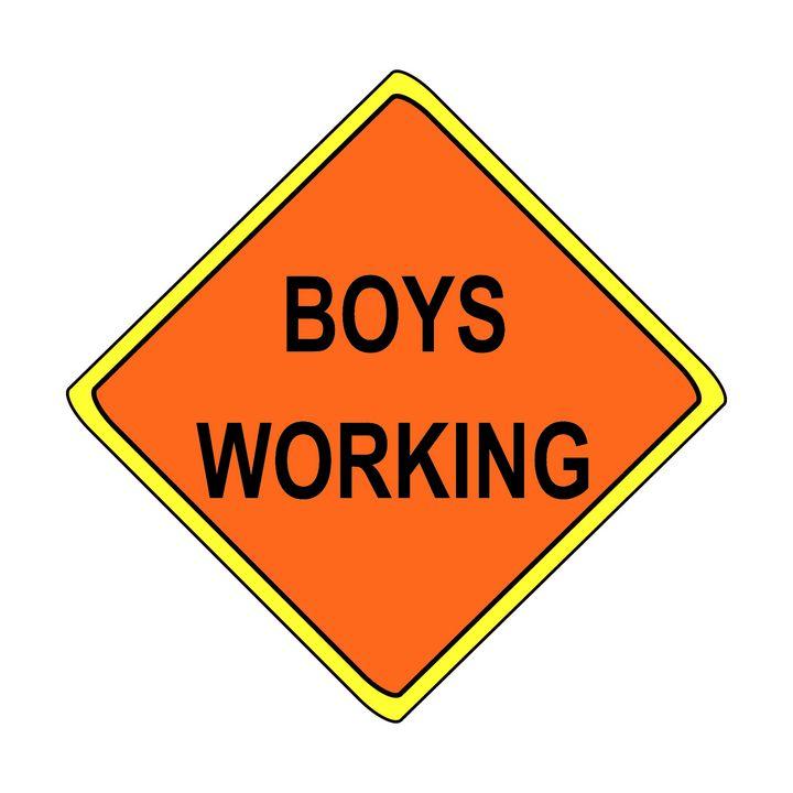 Boys Working - Toz