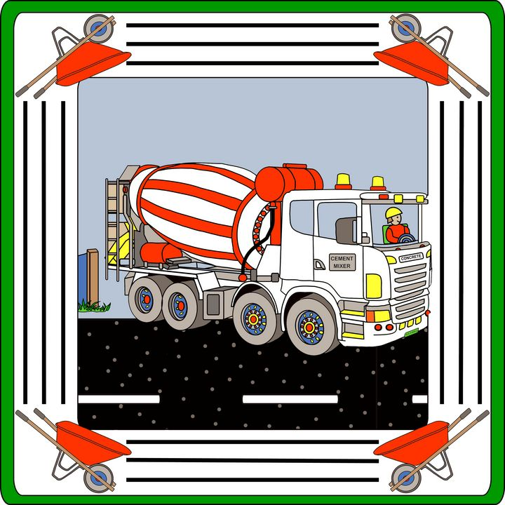 Cement Mixer - Toz