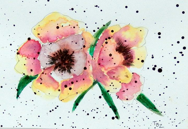Splatter Flower - Toz