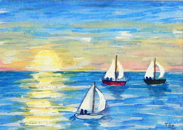Boat Race - Toz